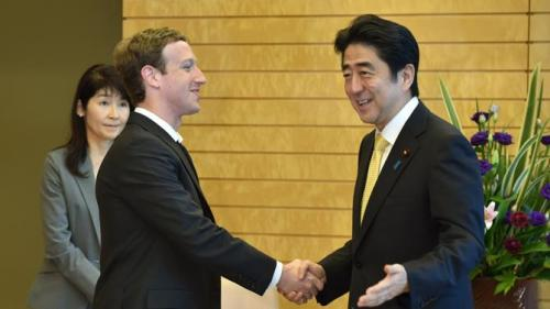 Zuckerberg assumes Abe needs him to get the youth vote, not realizing that such a thing doesn`t exist in Japan.