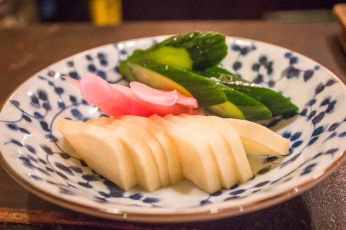 J-style pickled vegetables are usually just one way to get flatulence levels high in Japan.